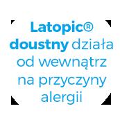 latopic doustny działa od wewnątrz na przyczyny alergii